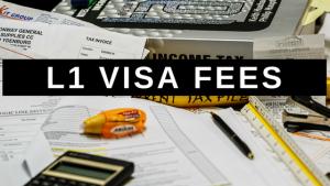 L1 Visa Fees