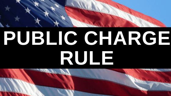 Public Charge Rule